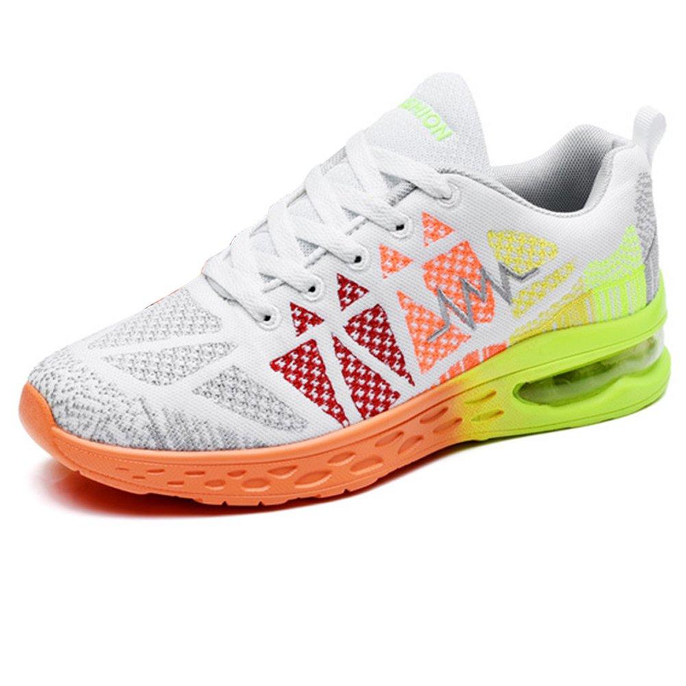 Padgene Women's Unisex Mesh Breathable Fashion Sneaker Air Cushion Running Training Athletic Sport Shoes