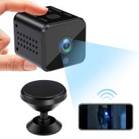 Spy Camera, WiFi Mini Camera with APP, Wireless Hidden Camera HD 1080P Security Camera Indoor/Outdoor, with Night Vision Motion Activated Nanny Cam Support iOS/Android with 32 GB SD Card