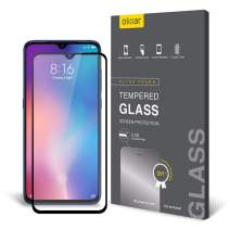 Olixar for Xiaomi Mi 9 Screen Protector - Tempered Glass 9H Rated - Shock Protection - Easy Application, Card and Cleaning Cloth Included - Clear
