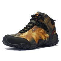 PP FASHION Men's Outdoor High Top Trekking Hiking Boots Walking Shoes Sneakers