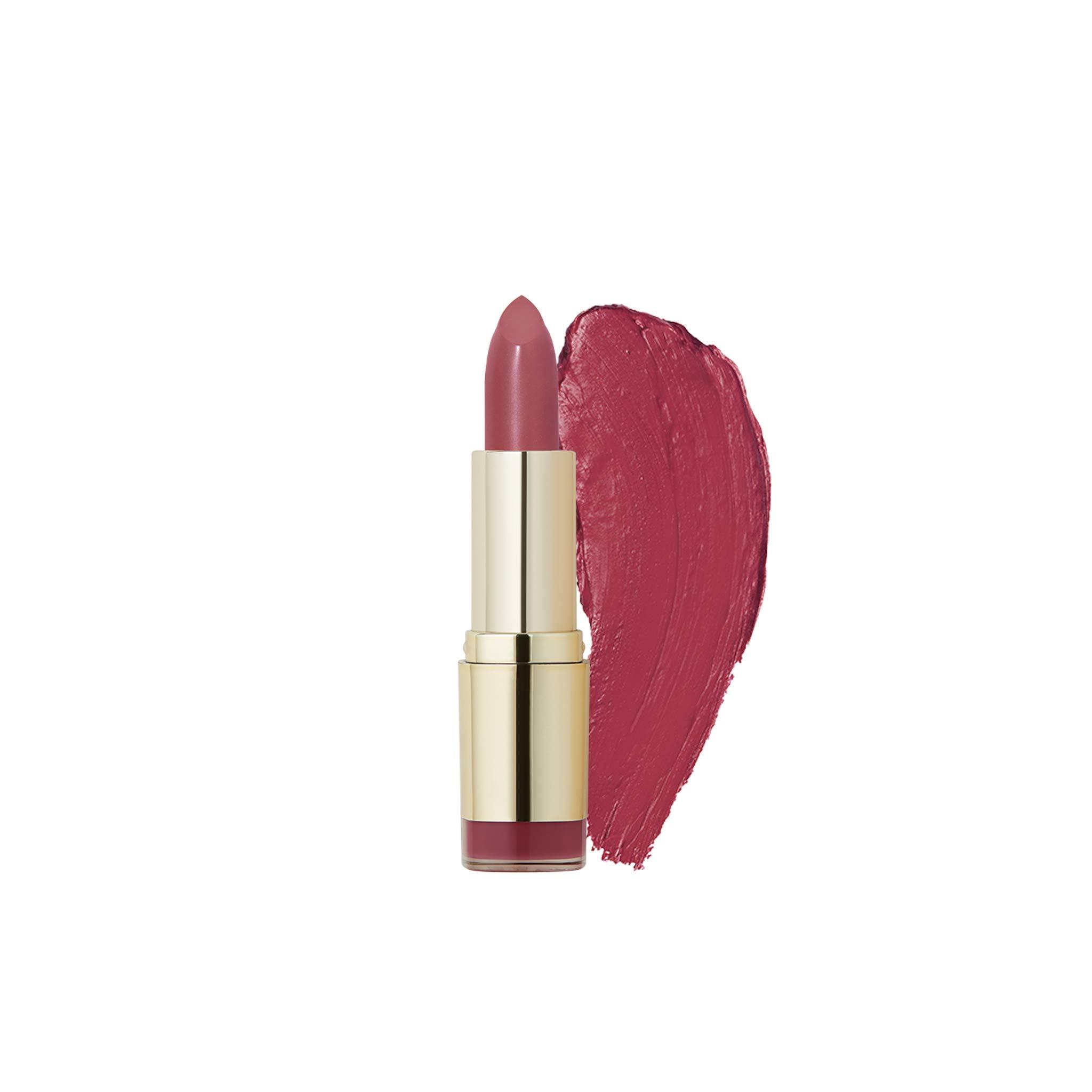 Milani Color Statement Lipstick - Plumrose, Cruelty-Free Nourishing Lip Stick in Vibrant Shades, Pink Lipstick, 0.14 Ounce