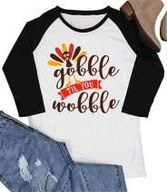 Gobble Till You Wobble raglan shirt Baby shirts toddler shirts kids shirts