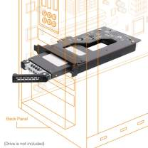 """ICY DOCK 2.5"""" SATA (6Gbps) SSD/HDD to PCIe 2.0 x1 Hot-Swap Mobile Rack for PCIe Expansion Slots - ToughArmor MB839SP-B"""
