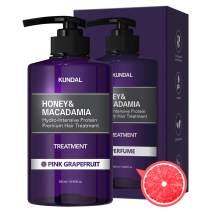 KUNDAL Honey&Macadamia Hydro-Intensive Protein Premium Nature Hair Treatment(Pink Grapefruit) 500ml