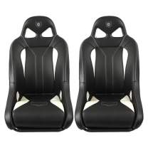 Pro Armor G2 Front Seat White 2008-2019 Polaris RZR 1000 900 S XP 4 Turbo, 2 Pack