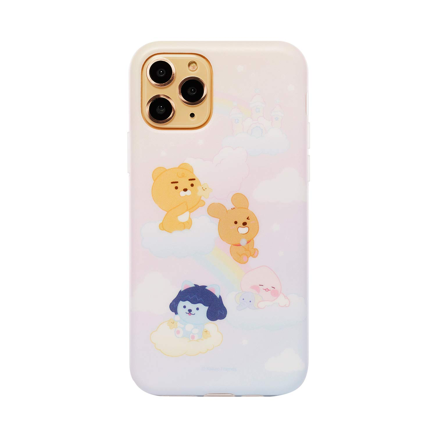 KAKAO FRIENDS Official- Baby Dreaming TPU Cell Phone Case, Compatible with iPhone (Little Friends, iPhone 11 Pro Max)