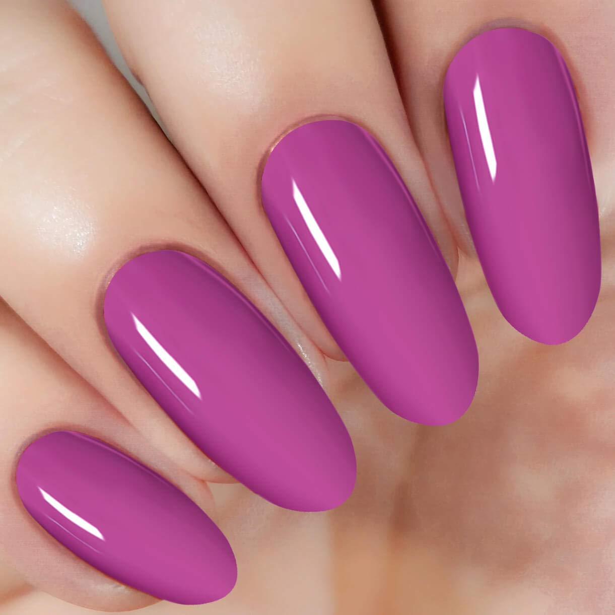 Purple Nail Dipping Powder (added vitamin) I.B.N Dipped Acrylic Dip Powder DIY Manicure Salon Home Use, 1 Ounce/28g (DIP 020)
