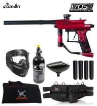 Maddog Azodin KAOS 3 Beginner HPA Paintball Gun Marker Starter Package B