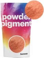 Hemway Pigment Powder Colour Luxury Ultra-Sparkle Dye Metallic Pigments for Epoxy Resin, Polyurethane Paint (Metallic Pale Orange, 100g / 3.5oz)