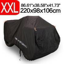 NEVERLAND Atv Cover Waterproof 210D Oxford Black
