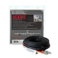 HEATIT JHSF 12-feet 120V Self Regulating assembled Pipe Cable