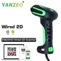 Yanzeo E9820 Industry High Precision Direct Part Marking Barocde Reader Ultra-Rugged DPM 2D/1D Barcode Scanner Kit DPM, 1D, 2D, PDF417 QR Code USB Cable