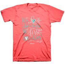 Kerusso Women's We Love T-Shirt - Coral -