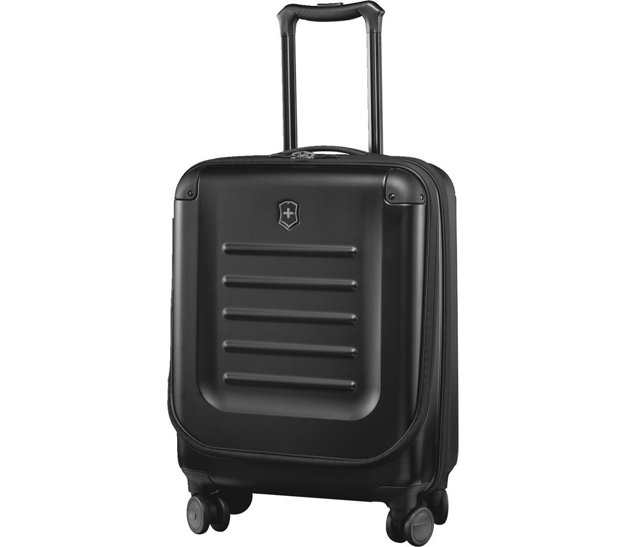 """Victorinox Spectra 2.0 Hardside Spinner Suitcase, Black, Expandable Carry-On, Global (21.7"""")"""