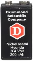Drummond Scientific 4-000-035 Ni-MH Rechargeable Battery for Portable Pipet-Aid