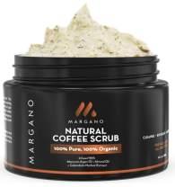 Natural Coffee Face & Body Scrub. Energizing Gentle Exfoliant w/Coffee, Calendula, Moroccan Argan Oil, Almond Oil, Shea Butter| Anti Acne, Blackheads, Scars, Stretch Marks. Product of Morocco