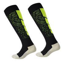 Luwint Men & Women Long Grip Socks - Breathable and Soft Non Slip Socks for Running Soccer Yoga Trampoline, 1 Pair