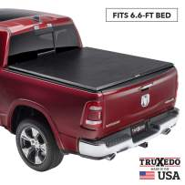 "TruXedo TruXport Soft Roll Up Truck Bed Tonneau Cover | 245801 | fits 07-13 Toyota Tundra w/Track System 6'6"" bed"