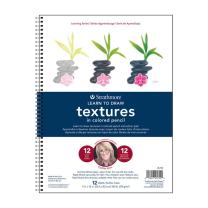Strathmore (25-752 300 Learning Series Colored Pencil Textures Pad
