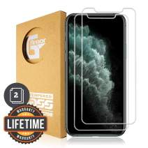 G-Armor iPhone 11 Pro Max, Xs Max Screen Protector Tempered Glass (2 Pack) - 9H Premium Glass Screen Protection Cover, Phone Case Friendly, HD Clear, 6.5-inch iPhone Accessories