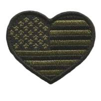 Tactical Heart USA Patch