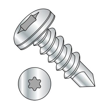 Plain Finish Phillips Drive Type AB #8-18 Thread Size Pan Head 1//4 Length Pack of 100 18-8 Stainless Steel Sheet Metal Screw