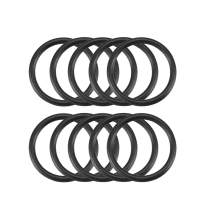 uxcell Nitrile Rubber O-Rings 16mm OD 13mm ID 1.5mm Width, Metric Sealing Gasket, Pack of 10