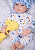 PURSUEBABY Lifelike Reborn Baby Dolls Newborn boy Damon 20 inch Real Life Weighted Baby Dolls with Magnetic Pacifier & Gift Box for Ages 3+