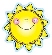 Carson Dellosa | Suns Cut-Outs | 6-inch x 6-inch, 36pcs (620023)