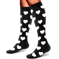 Copper Compression Socks Women & Men - Best for Running,Medical,Athletic Sports,Nurse