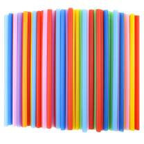 Tomnk 120pcs 10.3in Jumbo Straws Smoothie Straws Boba Straws Milkshake Straws Extra Wide Extra Long Assorted Bright Colors