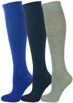 Mysocks 3 Pairs Unisex Knee High Socks