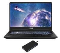 "ASUS TUF Gaming FX705DT Gaming and Entertainment Laptop (AMD Ryzen 7 3750H 4-Core, 32GB RAM, 2TB PCIe SSD, 17.3"" Full HD (1920x1080), GTX 1650, WiFi, Bluetooth, Webcam, 2xUSB 3.0, Win 10 Pro)"