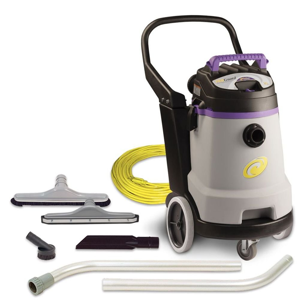 ProTeam Wet Dry Vacuums, ProGuard 20, 20-Gallon Commercial Wet Dry Vacuum Cleaner with Tool Kit