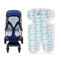 Luchild Baby Stroller Cool Seat Mat Breathable 3D Mesh Cool Cushion Liner for Stroller Car Seat High Chair Pushchair - Blue