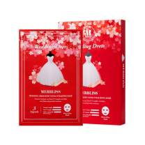 Merbliss Wedding Dress Ruby Ultra Vitalizing Micro-Fiber Mask 5 Sheets