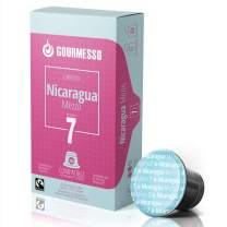 Gourmesso Nicaragua Mezzo - 10 Nespresso Compatible Coffee Capsules - Fair Trade