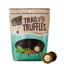 Trail Truffles – Vegan, Dark Chocolate Superfood Protein Balls – Healthy, Plant Based, Gluten Free, Dairy Free, Soy Free, Non-GMO Snacks (Mint Crème, 4 Pack)