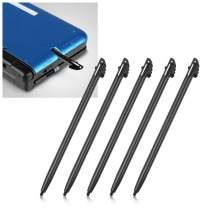 Insten Pack of 5 pcs Replacement Stylus Touch Pen Compatible with Nintendo 3DS XL / 3DS LL , Black (NOT COMPATIBLE with NEW 3DS)