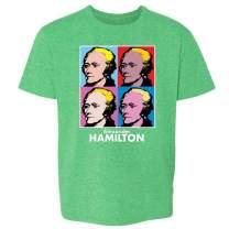 Alexander Hamilton Pop Art Youth Kids Girl Boy T-Shirt