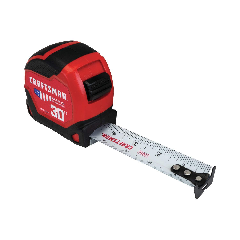 CRAFTSMAN Tape Measure 30-Foot (CMHT37530S)