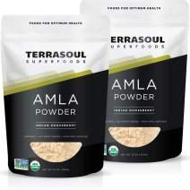 Terrasoul Superfoods Organic Amla Berry Powder (Amalaki), 2 Lbs - Rich in Antioxidant Vitamin C   Supports Immunity
