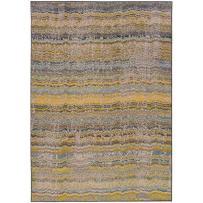 """Oriental Weavers 5992Y Kaleidoscope Area Rug, 9' 9"""" x 12' 2"""", Yellow/Grey"""