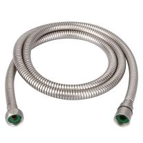 HOMEIDEAS Flexible Shower Hose Stretch 59-Inch to 79-Inch Stainless Steel Extra Long Shower Hose Replacement Handheld Shower Head Hose Extension, Brushed Nickel