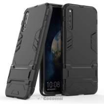Cocomii Iron Man Armor Huawei Honor Magic 2 Case, Slim Thin Matte Vertical & Horizontal Kickstand Reinforced Drop Protection Fashion Phone Case Bumper Cover for Huawei Honor Magic 2 (Jet Black)