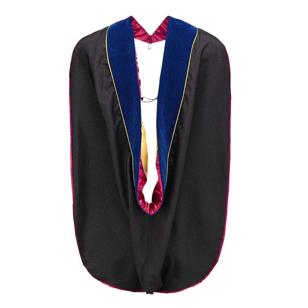 Annhiengrad Graduation Unisex Deluxe Doctoral Hood