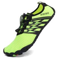 XIDISO Mens Water Shoes Womens Quick Dry Lightweight Barefoot Shoe Multifunction Aqua Sports Socks for Swimming Walking Diving Surfing Beach Pool Yoga