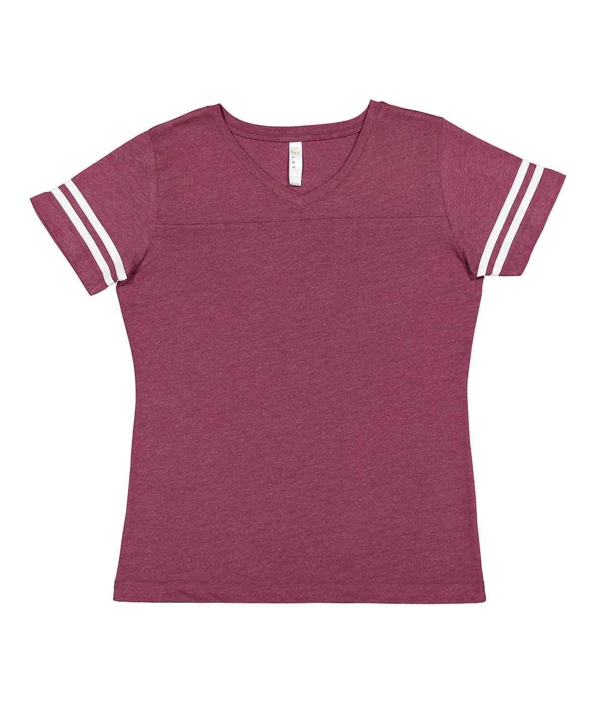 LAT Ladies' Fine Jersey Short Sleeve Football Tee