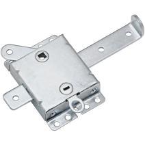 """National Hardware N280-743 V7647 Side Locks in Zinc, 7-1/2"""" wide"""