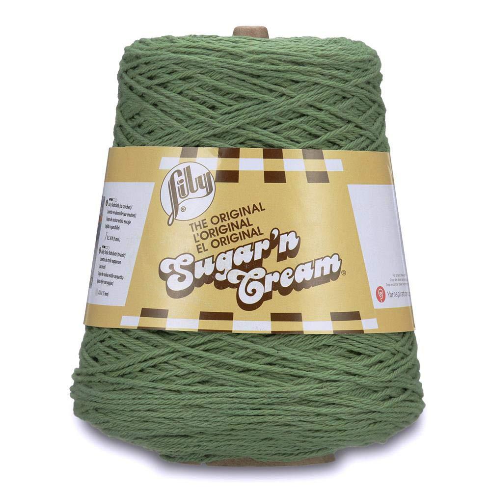 Spinrite Lily Sugar'n Cream Cone Yarn Sage
